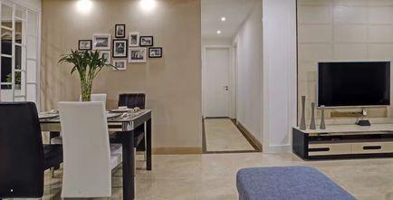 90平米三室两厅现代简约风格走廊门口装修效果图