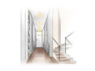 140平米复式北欧风格走廊图片大全