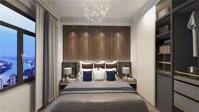 90平米三室两厅混搭风格卧室图片大全