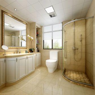 140平米三室一厅欧式风格卫生间欣赏图