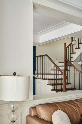 140平米复式美式风格阁楼设计图