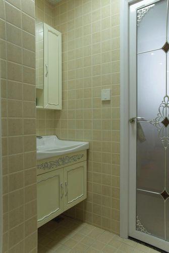 80平米一居室法式风格卫生间装修案例