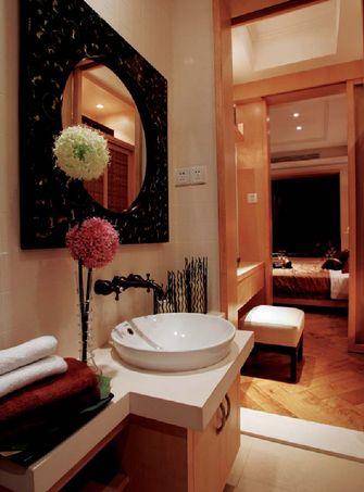 富裕型140平米四室一厅东南亚风格卫生间欣赏图