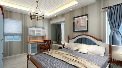 80平米一室两厅地中海风格卧室装修案例