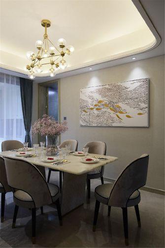 90平米公寓欧式风格餐厅图片大全