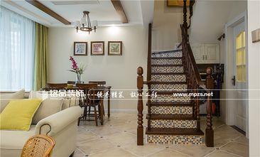 10-15万110平米三室两厅混搭风格楼梯效果图