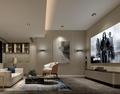 140平米复式现代简约风格影音室图片大全