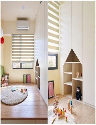 110平米三室一厅北欧风格儿童房图片大全
