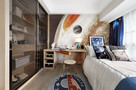 110平米新古典风格儿童房设计图
