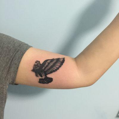 大臂内侧纹身款式图