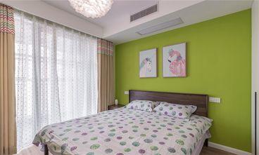120平米三室两厅北欧风格卧室照片墙装修效果图
