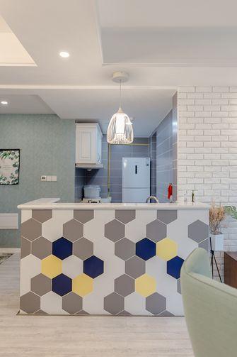 10-15万80平米三室两厅北欧风格厨房图片