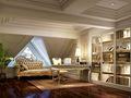 140平米别墅新古典风格阁楼装修案例