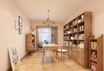120平米四室两厅日式风格书房效果图