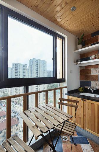 90平米混搭风格阳台图片