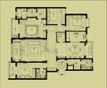 四房欧式风格效果图