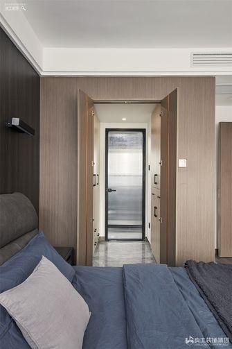 80平米三室一厅现代简约风格衣帽间图