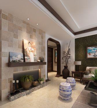 80平米三室两厅东南亚风格其他区域设计图