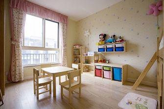 130平米四室一厅田园风格书房装修效果图