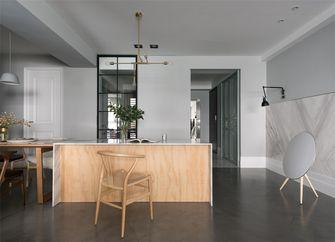 110平米三室一厅现代简约风格餐厅欣赏图