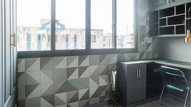 50平米美式风格阳台装修效果图