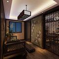 140平米别墅东南亚风格书房装修案例
