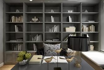 90平米三欧式风格书房装修效果图