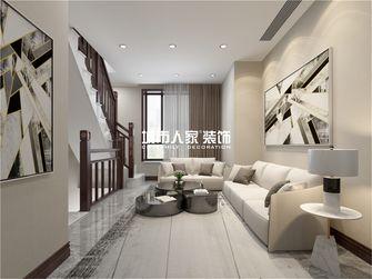 140平米复式新古典风格楼梯间图片大全