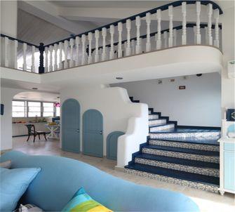 140平米复式地中海风格阁楼图片大全
