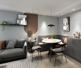 130平米三现代简约风格餐厅设计图