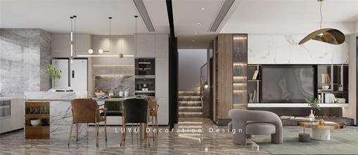 140平米复式法式风格餐厅图片大全