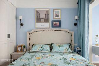 90平米三室两厅美式风格卧室装修案例