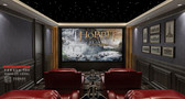 140平米别墅美式风格影音室图片