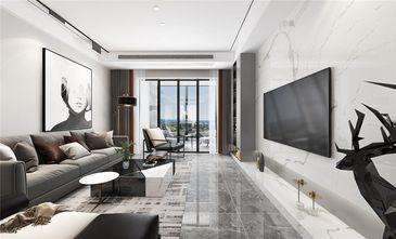 140平米四室两厅现代简约风格客厅装修案例