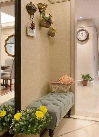 140平米三室两厅英伦风格玄关装修图片大全