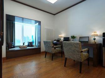 120平米三室两厅新古典风格影音室图片大全