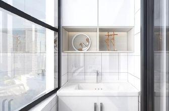 90平米三室两厅现代简约风格阳台设计图