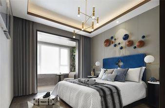 110平米三室一厅中式风格卧室装修案例