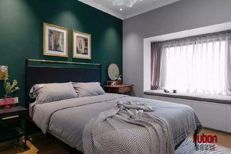 80平米三英伦风格卧室装修案例