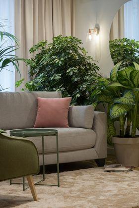 10-15万50平米公寓北欧风格客厅装修案例