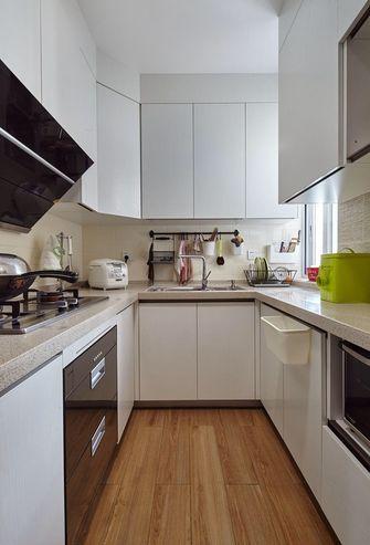 经济型90平米三室两厅北欧风格厨房欣赏图
