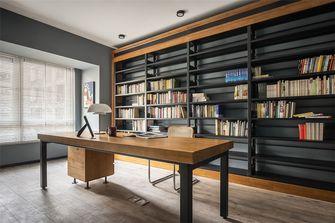 110平米四室两厅田园风格书房设计图