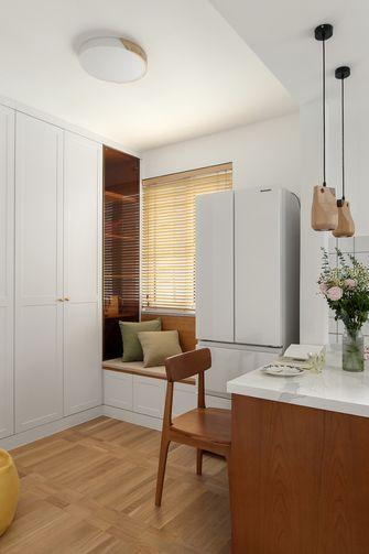 80平米三室两厅日式风格书房图片