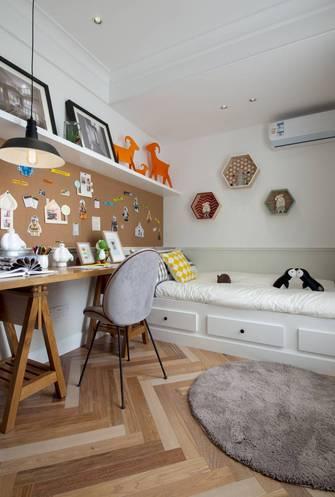 80平米三室两厅北欧风格儿童房图片