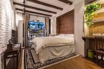40平米小户型东南亚风格客厅效果图