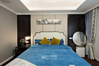 140平米三室两厅中式风格卧室装修案例