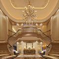 140平米别墅法式风格玄关装修案例
