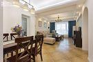 90平米美式风格餐厅沙发欣赏图