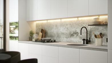 60平米一室一厅宜家风格厨房装修效果图