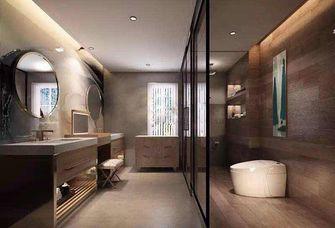 110平米三室两厅混搭风格卫生间浴室柜装修案例
